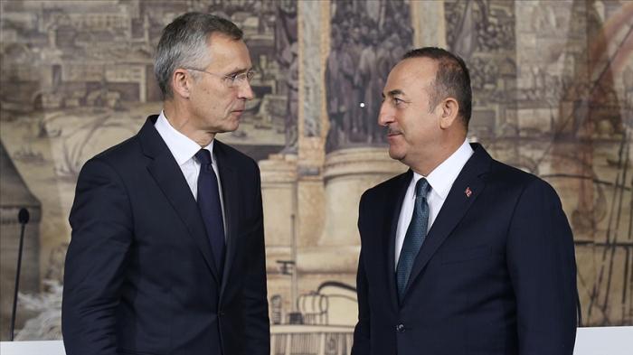 جاويش أوغلو والأمين العام لحلف الناتو يناقشان كاراباخ