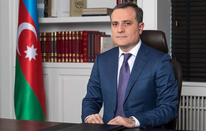 """""""Ermənistanın müharibə cinayətləri qətiyyətlə pislənilməlidir"""" -  Ceyhun Bayramov"""