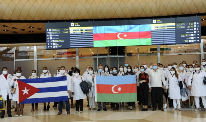 Team of medical workers arrives in Azerbaijan from Cuba