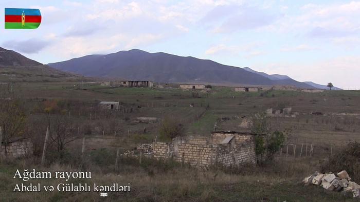 Ağdamın Abdal və Gülablı kəndlərindən görüntülər -    VİDEO
