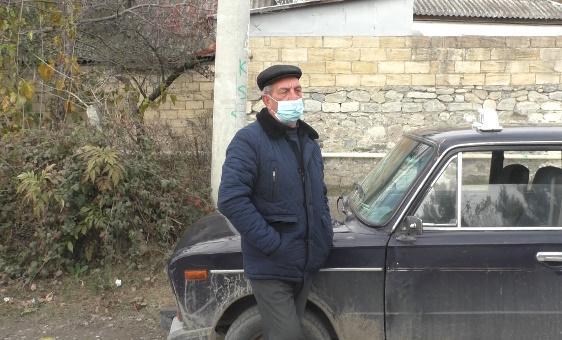Testi pozitiv çıxan şəxs taksi sürdü