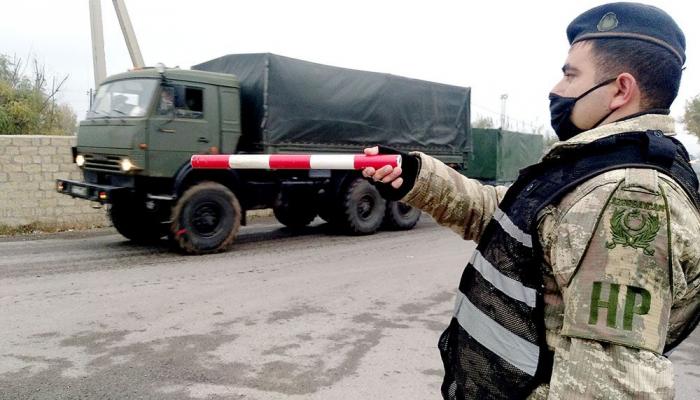 Sülhməramlılar üçün maddi-texniki təminat vasitələri gətirildi -  VİDEO