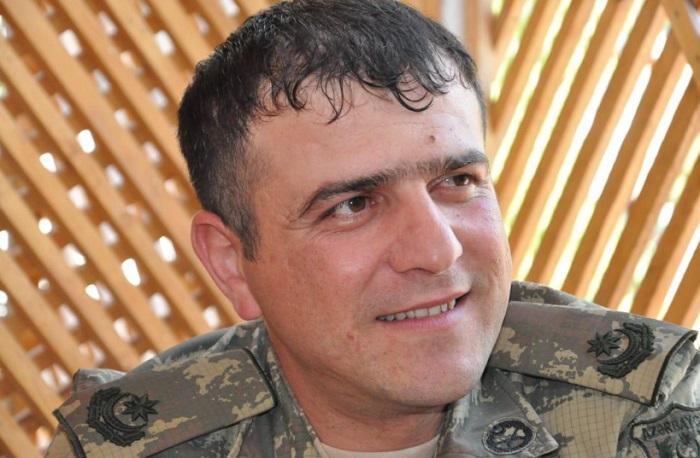 """""""Mübariz postu""""na bayrağımızı sancan mayor:  """"Mənim üçün şərəfli gün idi"""""""