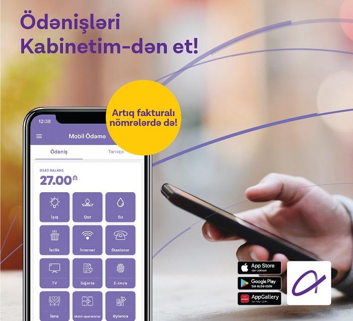 """""""Azercell""""in Fakturalı Xətt abunəçiləri üçün yeni imkan"""