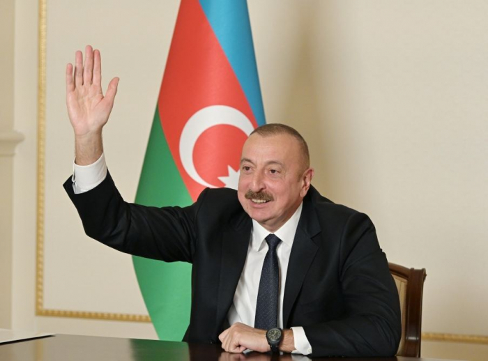 Turkey will officially play role in future settlement of conflict and monitoring ceasefire - President Aliyev