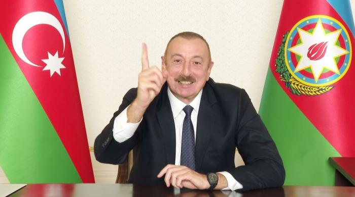 """İlham Əliyev:    """"Nə oldu, Paşinyan?"""""""