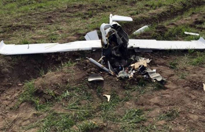 Tactical UAV of Armenian Army destroyed
