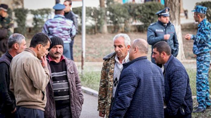 In Karabach Lebende Syrische Und Libanesische Armenier Fotos