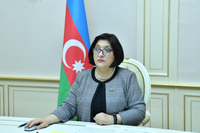 Sahibə Qafarova beynəlxalq konfransa qatıldı