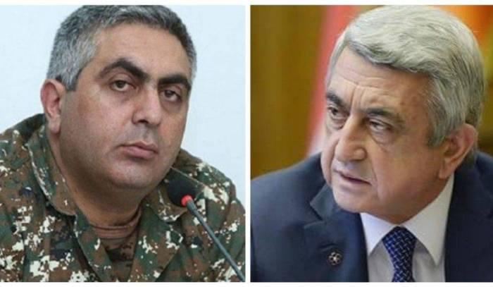 Sarkisyanla Ovannisyan arasında silah qalmaqalı
