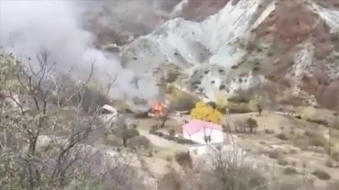Armenians burn houses, forest ahead of leaving Kalbajar - Anadolu Agency
