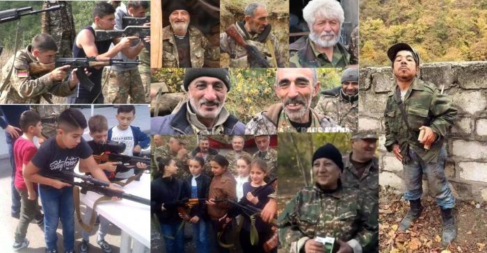 """Paşinyanın """"döyüşçüləri"""":  Cırtdanlar da savaşa girdi"""