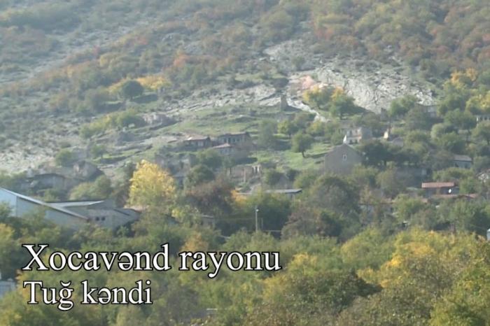 Xocavəndin işğaldan azad olunan Tuğ kəndi -    VİDEO