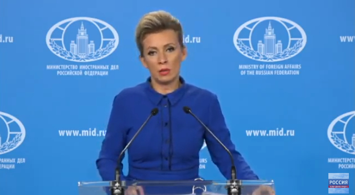 Russian leadership is in constant contact with the Azerbaijani and Armenian leadership - Zakharova