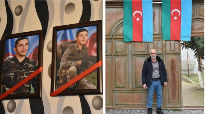FHN-in əməkdaşları şəhid ailəsini ziyarət ediblər -  FOTO