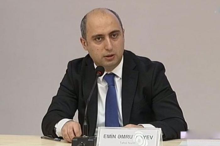 Emin Əmrullayev müəllimlərin maaşından danışdı