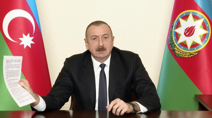 "Prezident:    ""Qarabağla bağlı strateji baxışlarımız var"""