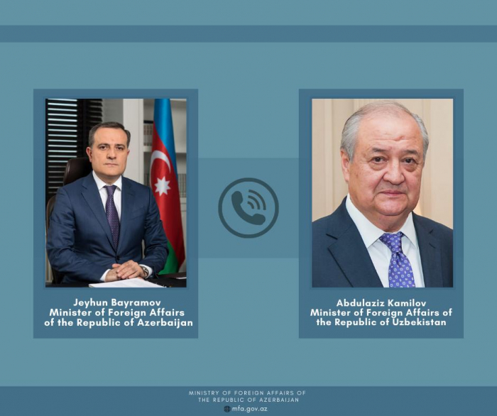 Azerbaijani and Uzbekistan FMs discussed latest situation in the region