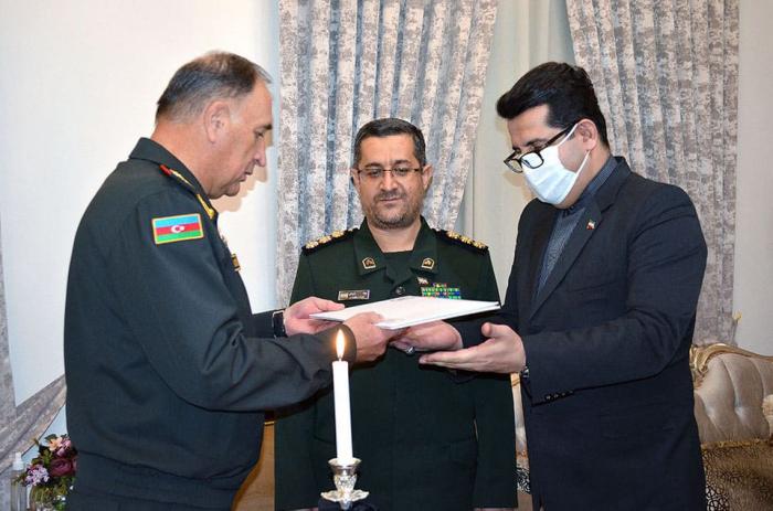 Azerbaijan Defense Ministry extends condolences to Iranian side