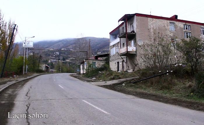 Azerbaijani MoD releases video footage of Lachin city