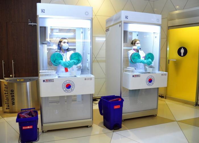 Korean gov't donates three walk through testing booths to support Azerbaijan in COVID-19 fight