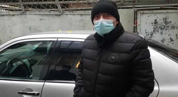 Mingəçevirdə taksi sürən COVİD-19 xəstəsi saxlanıldı