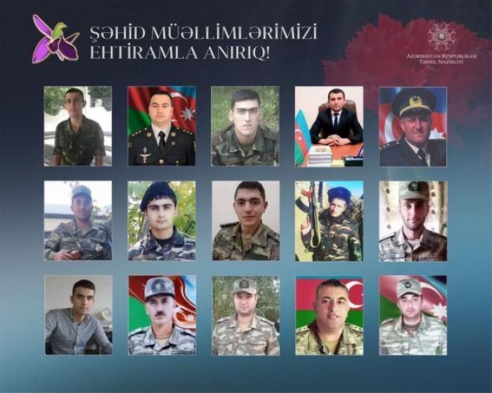 """""""Azərbaycan müəllimi Vətən müharibəsindən başıuca çıxdı"""""""