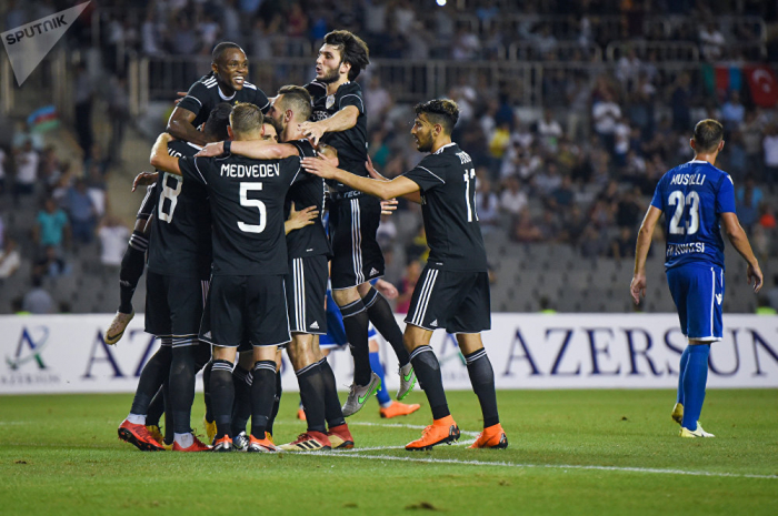 Qarabag claims first point in UEFA Europa League group stage