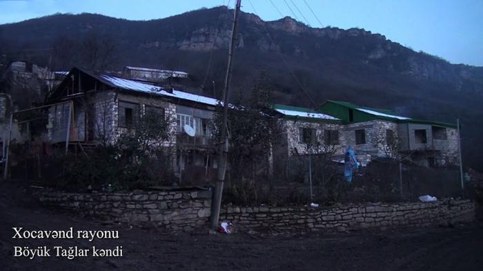 El pueblo de Boyuk Taglar de Khojavend -   VIDEO