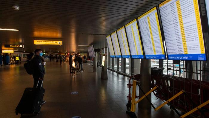 Niederlande verbieten Flüge aus Großbritannien