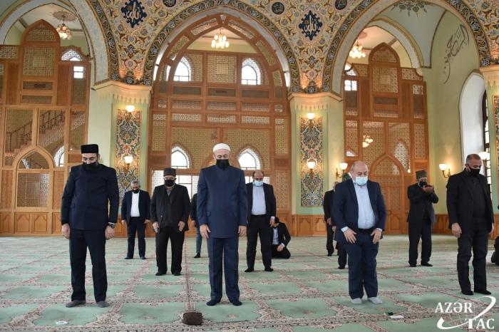 Patriotic War martyrs commemorated at Tazapir mosque