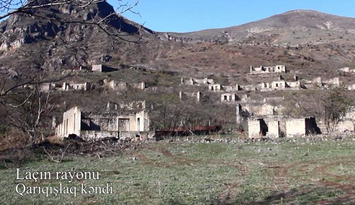 قرية قاريقيشلاق ، منطقة لاتشين -   فيديو