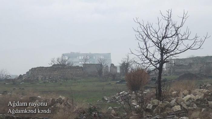 Ağdamın Ağdamkənd kəndi -