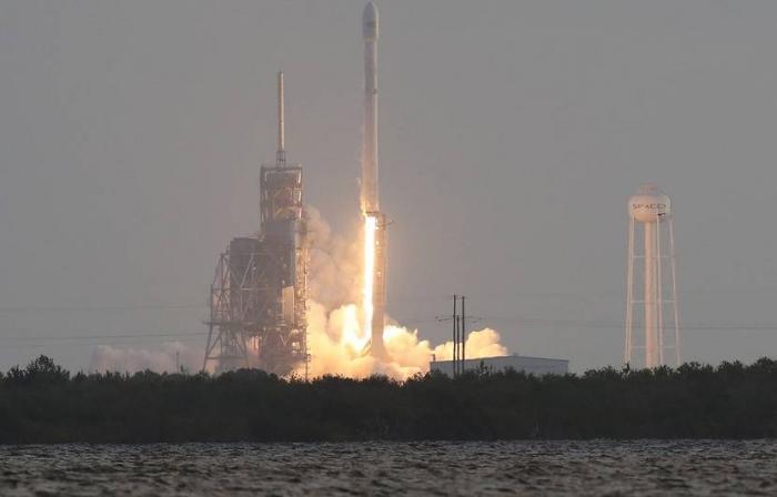 SpaceX:le lancement du Falcon 9avec le satellite espion américainreporté