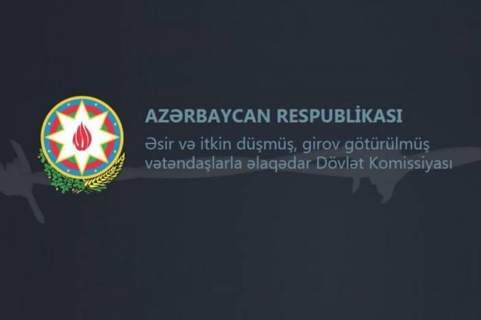 Komissiya:  Ermənistan azərbaycanlı əsirləri gizlədir
