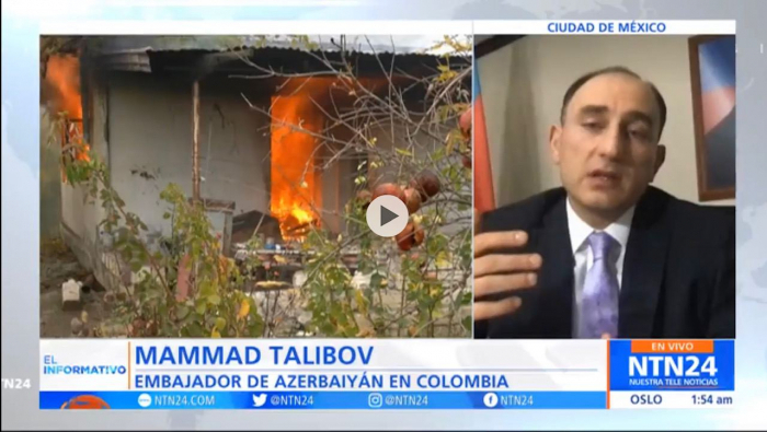 Karabakh discussed on Colombian TV