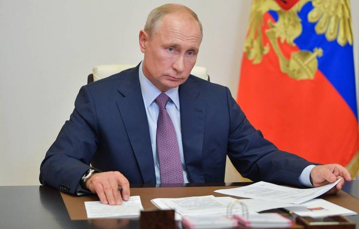 """بوتين:  """"البيان الثلاثي بشأن كاراباخ يتم تنفيذه باستمرار"""""""
