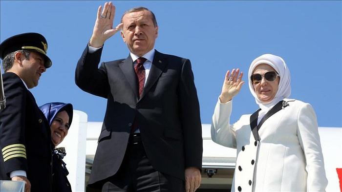 Recep Tayyip Erdogan to visit Baku with Turkish first lady