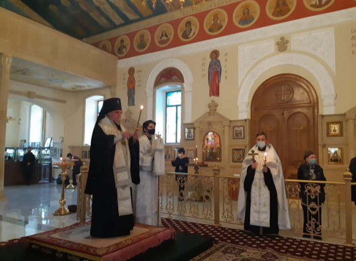 Baku cathedral parishioners held ceremony for memory of martyrs of Azerbaijan