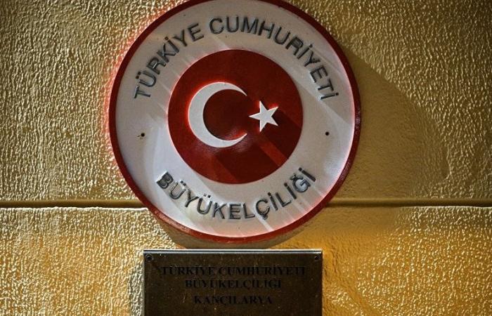 تهنئة السفارة التركية على لاتشين