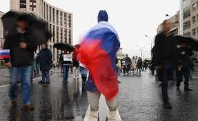 سقوط جرحى من القوات الأمنية الروسية خلال فض تظاهرات غير مرخصة