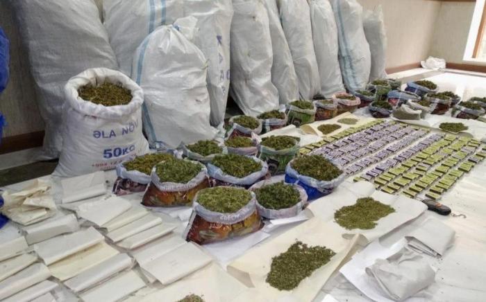 Ötən il 2 tona yaxın narkotik dövriyyədən çıxarılıb