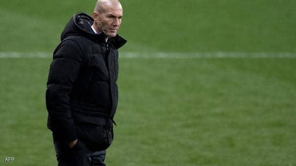 زيدان يبدي أسفه على الهزيمة.. والصورة السيئة لريال مدريد