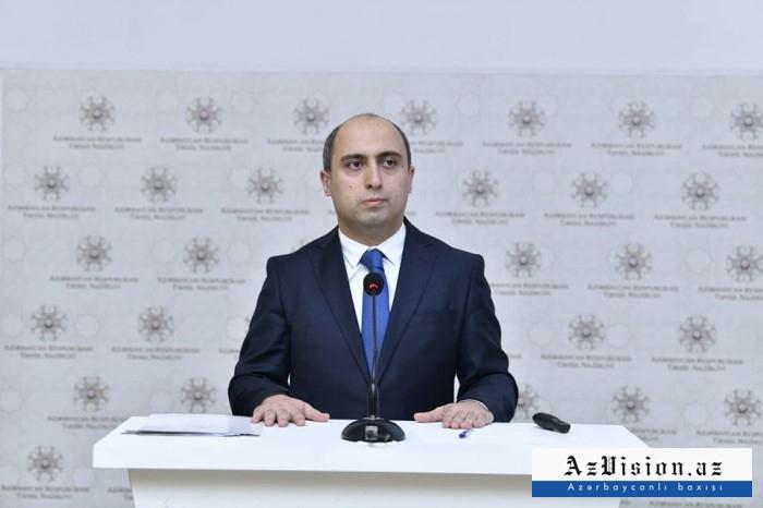 """""""Dərslərin həftədə 3 dəfə olması zərurətdən irəli gəlir"""" -    Emin Əmrullayev"""