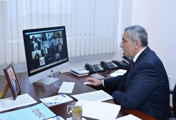 Siyavuş Novruzov komitənin ilk iclasını keçirdi