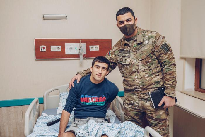 """""""YAŞAT"""" qazilərə dəstəyini davam etdirir -    FOTO"""