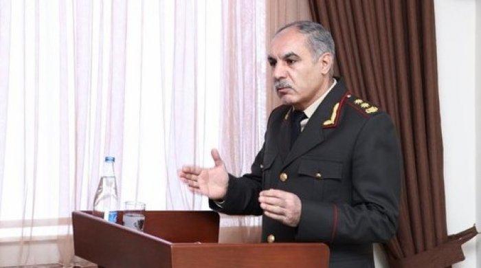"""""""Qəsdən adam öldürmə cinayətləri 30% azalıb"""" -    Hərbi prokuror"""