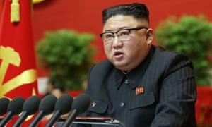 Kim Jong-un admits North Korea