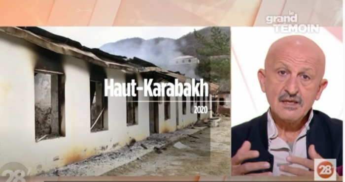 Famous photographer speaks about Armenian vandalism on French TV Channel