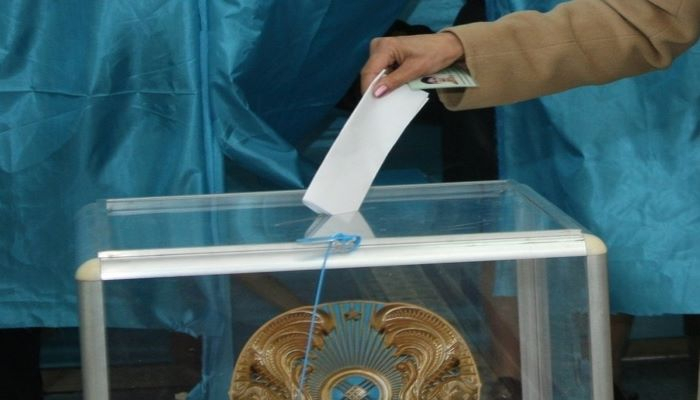 Ruling party leads in votes at Kazakhstan